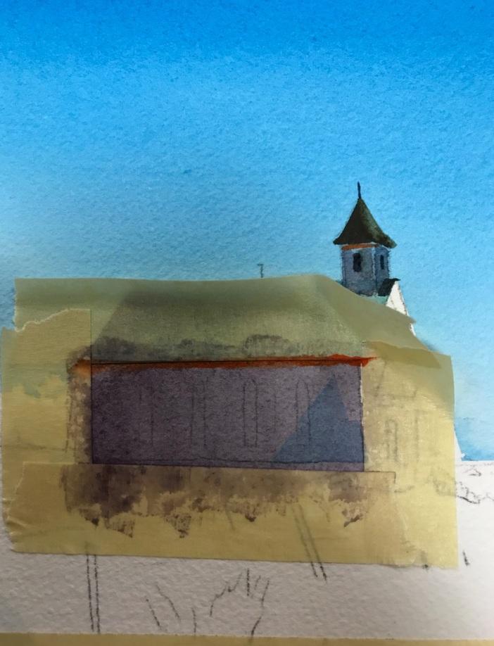 Church in progress