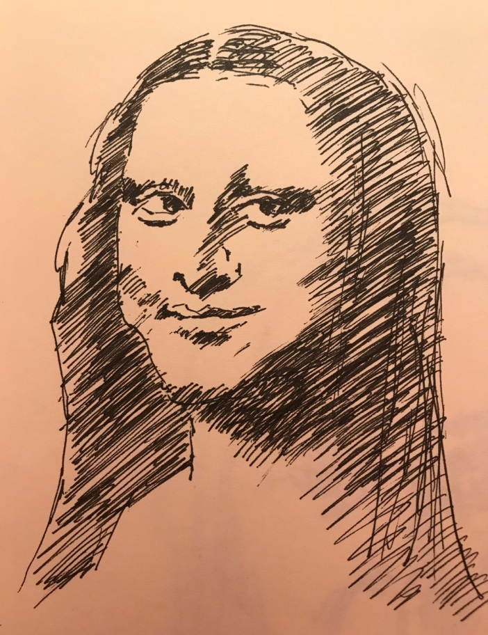 Mona Lisa quick sketch