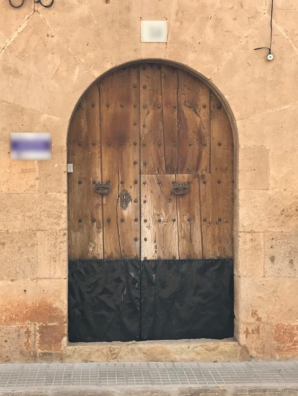 Spanish door1