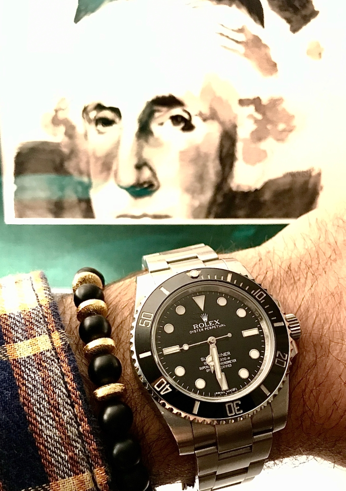 George Washington and BlackBelt bracelet