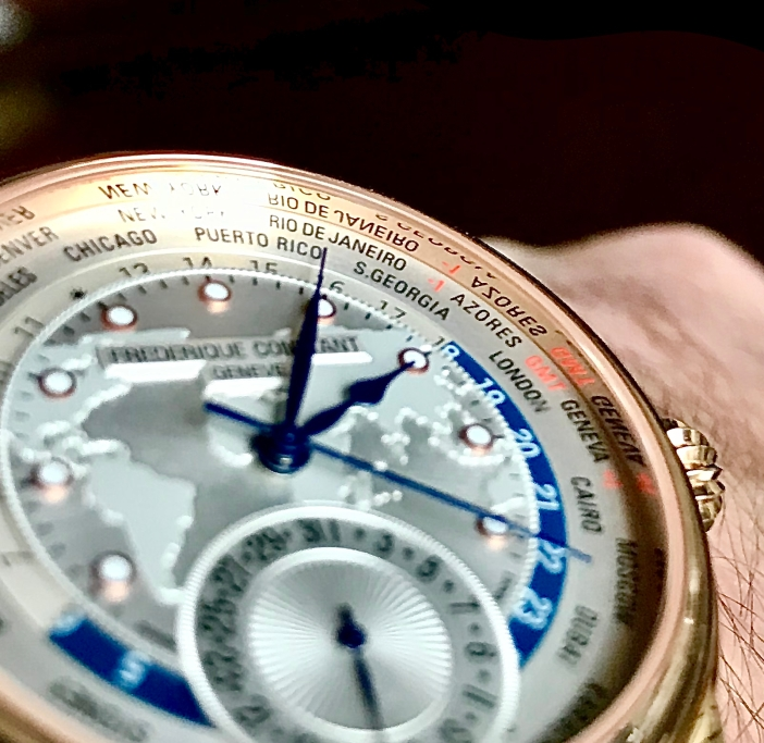 Worldtimer closeup